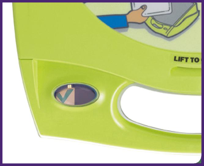 6. Tarkista, että ilmaisinikkunassa näkyy vihreä pukkimerkki
