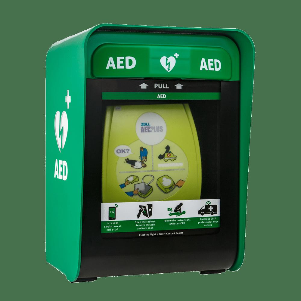 Miksi tarvitsen kaapin defibrilaattorille?