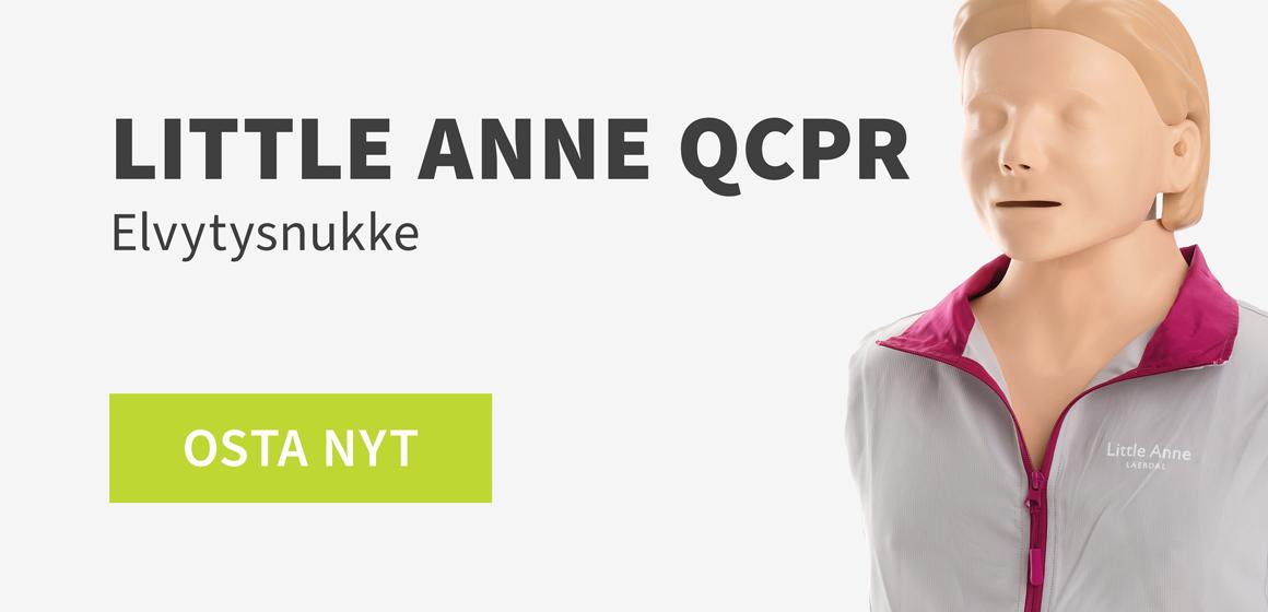 Little Anne QCPR elvytysnukke